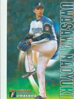 Professional baseball Tips 2019 first S-06 Naoyuki Uesawa (Nippon Meat Packers) star card