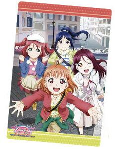 【25.千歌&梨子&果南&ルビィ/私服ver. (ポスターカード)】 ラブライブ!サンシャイン!! The School Idol Movie Over the Rainbow ウエハース2