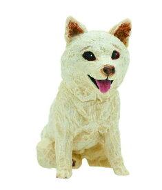 【柴犬_白】ART IN THE POCKETシリーズ はしもとみお 犬の彫刻