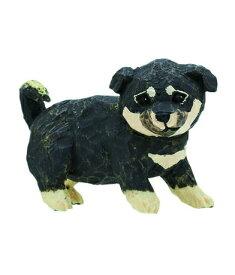 【柴犬(子)_黒】ART IN THE POCKETシリーズ はしもとみお 犬の彫刻