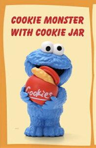 【クッキーモンスター (クッキー缶) 】 POPMART セサミストリート ベーシックシリーズ