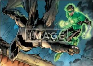 【バットマン&グリーン・ランタン/カラーアート (ポスター賞) 】 ベアブリック HAPPYくじ DC BE@RBRICK