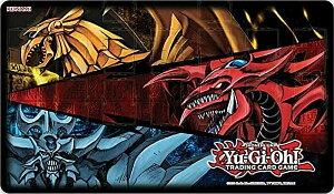 遊戯王 プレイマット [オシリスの天空竜&オベリスクの巨神兵&ラーの翼神竜/Slifer the Sky Dragon, Obelisk the Tormentor, The Winged Dragon of Ra] JUNE 2021 GAME MAT