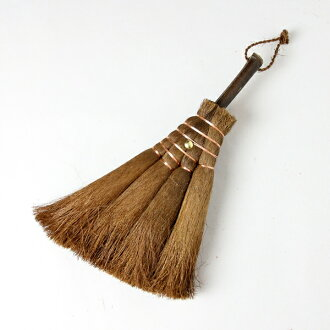 "Wakayama Prefecture, Yamamoto WINS, Assistant shop ""car on active ★ craftsmen make room broom! ""Palm (Palm) broom / 4 jade Kojin broom-cockscomb in (broom / Palm / fashion / design / polearm broom / flooring / handmade / 手箒 / Japan made / parlor / winter"