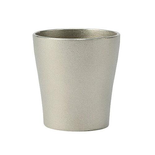 【送料無料】【富山県/NAGAE+/ナガエプリュス】DUNE Shot Cup silver / ショットカップ シルバー(父の日/サケカップ/和ジョッキ/ビアジョッキ/コップ/カップ/テーブルウェア/国産/日本産/職人)