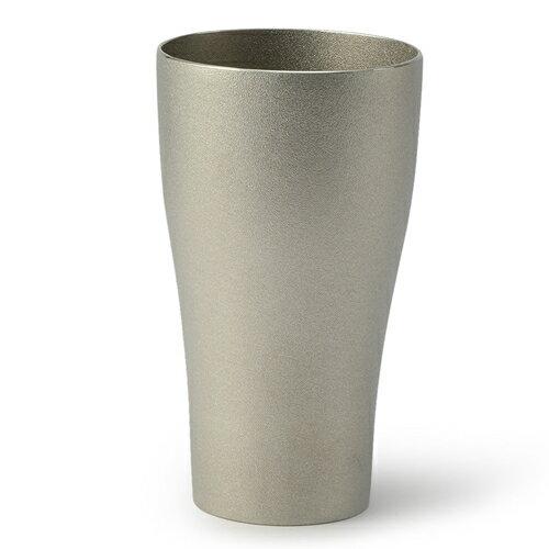【送料無料】【富山県/NAGAE+/ナガエプリュス】DUNE Beer Cup silver / ビアカップ シルバー(父の日/サケカップ/和ジョッキ/ビアジョッキ/コップ/カップ/テーブルウェア/ビール/ギフト/引き出物/国産/日本産/職人)
