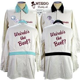 """☆WEIRDO SHOP COAT """"WINDY'S""""☆ウィアード ジャケット グラッドハンド GLADHAND &Co.No.WRD19SS04"""