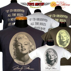 """TOYS McCOY MARILYN MONROE TEE """"PICTURE""""/No.TMC1811"""