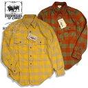 "FREEWHEELERS (フリーホイーラーズ)ネルチェック ワークシャツ No.2033006 ""OFFY/オッフィ"" フランネル 長袖裏起毛…"