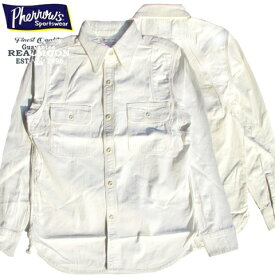 フェローズ ホワイトシャンブレー・ワークシャツNo.770WS099