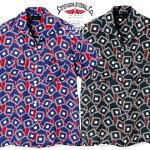 スティーブンソンオーバーオール半袖オープンシャツ