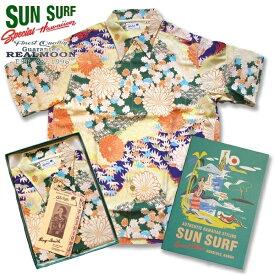 """SUN SURF サンサーフ スペシャルエディション """"KIMONO DESIGN"""" SS38675ハワイアンシャツ(アロハシャツ)"""
