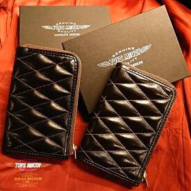 TOYS McCOY LEATHER QUILTED SHORT WALLETStyle No.TMA1833