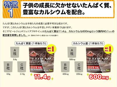 ビーレジェンドジュニアプロテインすくすくチョコ風味500g(アミノ酸スコア100)
