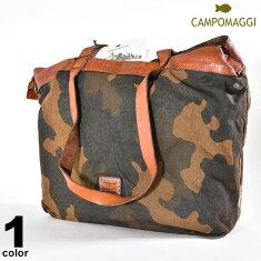 CAMPOMAGGI(カンポマッジ)牛革バッグショルダー可2019秋冬内ポケット2個ロゴa0-0207-38-89