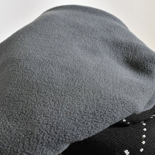 CASTELBAJACカステルバジャックマフラー2019秋冬防寒ボーダー裏起毛ロゴバジャック98-0401-56