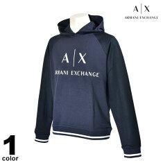 ArmaniExchangeアルマーニエクスチェンジ長袖パーカーメンズ2020春夏ロゴ98-6505-47