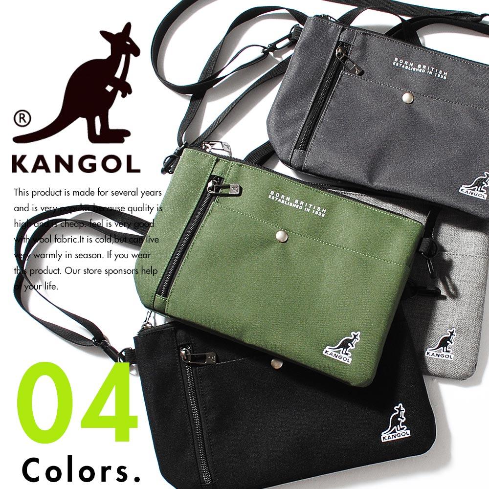 サコッシュ カンゴール バッグ ブランド kangol サイクリング ウエストバッグ ボディバッグ 斜め掛け カバン 鞄 アウトドア ミニポーチ ポーチ セカンドバッグ