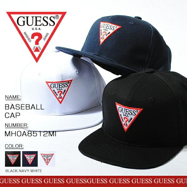 GUESS ゲス ▼ロゴ BBキャップ ストリート ブランド 正規品 インスタブランド SNS 人気 ベースボールキャップ