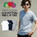 ロゴTシャツ クラシックロゴ FRUIT OF THE LOOM メンズTシャツ パックT Tシャツ フルーツオブザルーム ブラック ネイビー グレー ホワイト Sサイズ XLサイズ コットン 綿 s