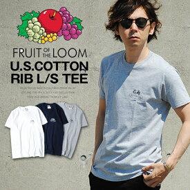 ロゴTシャツ クラシックロゴ FRUIT OF THE LOOM メンズTシャツ パックT Tシャツ フルーツオブザルーム ブラック ネイビー グレー ホワイト Sサイズ XLサイズ コットン 綿