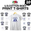 メンズTシャツ プリントTシャツ アメカジTシャツ FRUIT OF THE LOOM(フルーツオブザルーム) USAコットン使用 プリント…
