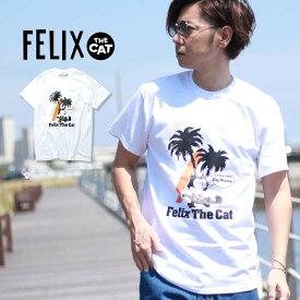 FELIX THE CAT フェリックスザキャット フェリックス Tシャツ ハワイ お土産 USAコットン100% 夏物 夏服 アメカジ アメリカ stbhSS