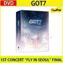 """送料無料【2次予約】GOT7 1ST CONCERT """"FLY IN SEOUL"""" FINAL (3 DISC)【DVD】【K-POP】【発売6月末】【6月末発..."""