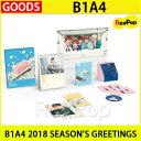 送料無料【1次予約限定価格】B1A4 2018 SEASON'S GREETINGS 【シーズングリーティング】【発売12月15日】【12月22日発送】