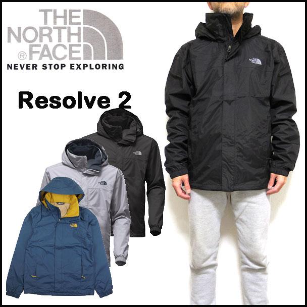 ノースフェイス メンズ ジャケット マウンテンパーカー RESOLVE2 JACKET THE NORTH FACE ウィンドブレーカー NF0A2VD5