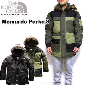 ノースフェイス ダウンジャケット メンズ マクマードパーカ 3 Macmurdo Parka III XS S M L XL 18秋冬 アウター