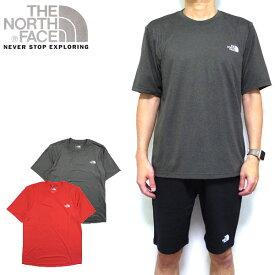ノースフェイス Tシャツ メンズ THE NORTH FACE REAXION AMP CREW TEE 19新作 ティーシャツ ロゴ S M L XL