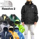 ノースフェイス メンズ ジャケット マウンテンパーカー RESOLVE2 JACKET ウィンドブレーカー レイン S M L XL NF0A2VD5