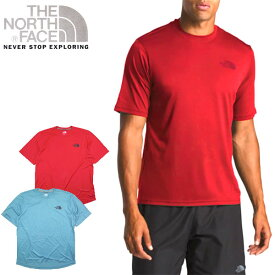ノースフェイス Tシャツ ランニング メンズ THE NORTH FACE LFC REAXION AMP CREW TEE ブランド ロゴ S M L XL