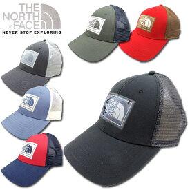 ノースフェイス 帽子 キャップ メンズ レディース ユニセックス THE NORTH FACE メッシュ MUDDER TRUCKER CAP スナップバック