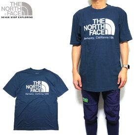 ノースフェイス Tシャツ メンズ THE NORTH FACE BACK TO BARKELEY TEE トップス ティーシャツ ロゴ