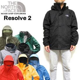ノースフェイス ジャケット メンズ THE NORTH FACE マウンテンパーカー RESOLVE2 JACKET アウター ウィンドブレーカー レイン S M L XL NF0A2VD5