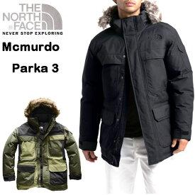 ノースフェイス ダウン メンズ ジャケット マクマードパーカ 3 Macmurdo Parka III XS S M L XL アウター