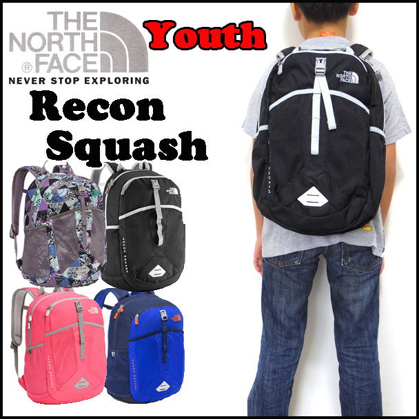 ノースフェイス リュック キッズ THE NORTH FACE ジュニア YOUTH RECON SQUASH BACK PACK リーコン 男の子 女の子