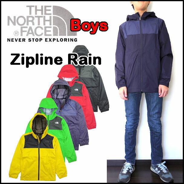 ノースフェイス キッズ ジャケット ジュニア BOYS ZIPLINE JACKET THE NORTH FACE ジップライン 120 130 140 150 160 170