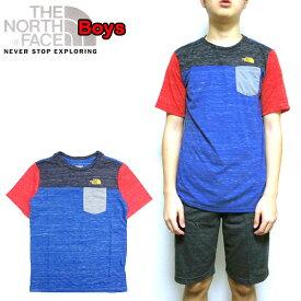 ノースフェイス キッズ Tシャツ THE NORTH FACE BOYS POCKET TEE ポケット 120 130 140 150 160 170cm 男の子