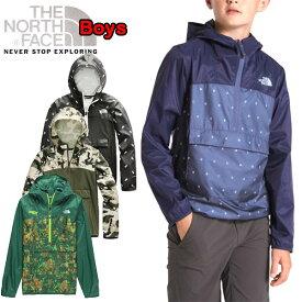 ノースフェイス キッズ ジャケット アウター THE NORTH FACE BOYS NOVELTY FANORAKT ウィンドブレーカー 110 120 130 140 150 160 170