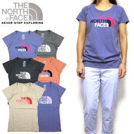 ノースフェイス THE NORTH FACE レディース Tシャツ スクープネック Scoop-Neck Tee ティーシャツ