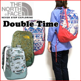 リュック レディース ノースフェイス THE NORTH FACE バックパック DOUBLE TIME ユニセックス back pack デイパック 05P03Dec16