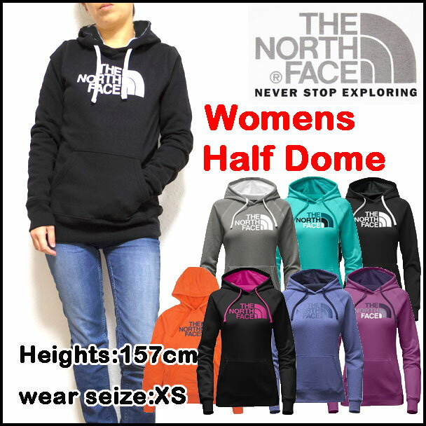 ノースフェイス/レディース/パーカー/THE NORTH FACE/HALF DOME HOODIE/ハーフドーム/プルオーバー