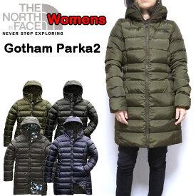 ノースフェイス THE NORTH FACE ダウンコート レディース Gotham Down Parka 2 防寒 アウター 18秋冬 XS S M L 迷彩 NF0A35BV