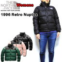 ノースフェイス ダウンジャケット レディース レトロ ヌプシ 1996 Retro Nuptse Jacket THE NORTH FACE 18FW 防寒 アウター XS S M L