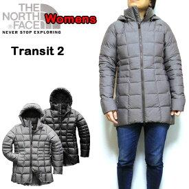 ノースフェイス ダウンジャケット レディース THE NORTH FACE TRANSIT JACKET II 黒 XS S M L