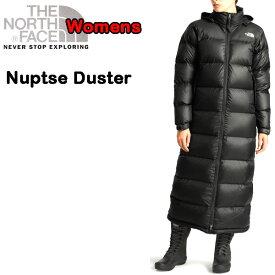 ノースフェイス THE NORTH FACE ダウンコート レディース レトロ ヌプシ Nuptse Duster ロング丈 S M L XL