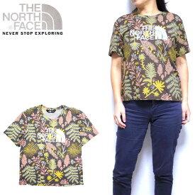 ノースフェイス THE NORTH FACE レディース Tシャツ All Over Print Tee リラックス XS S M L USA